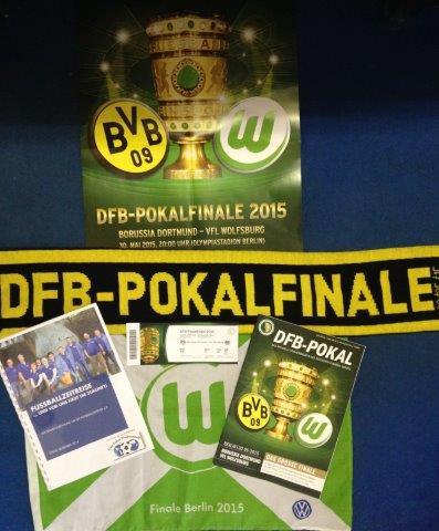 Fußballzeitreise Beim Dfb Pokalfinale 2015 In Berlin Fussballzeitreise